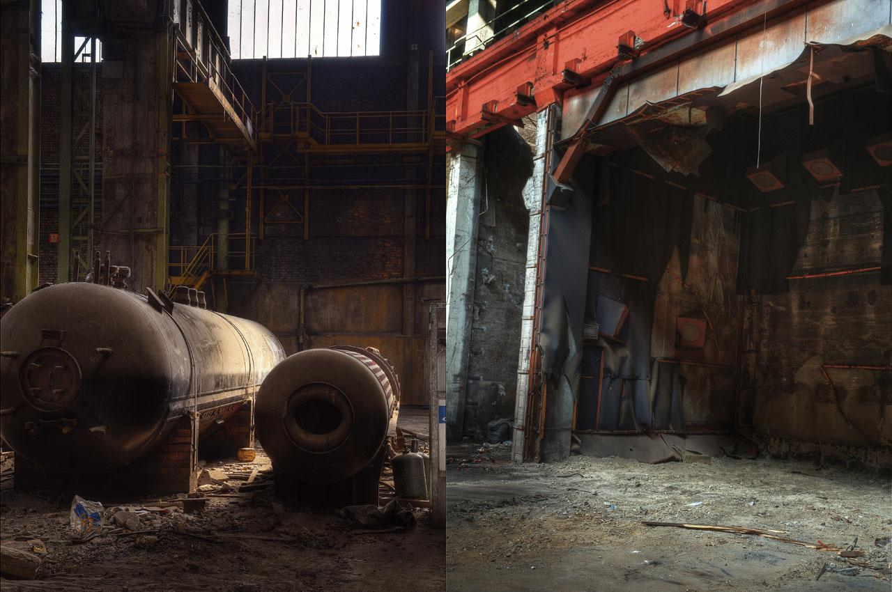 Lieux industriels abandonnes
