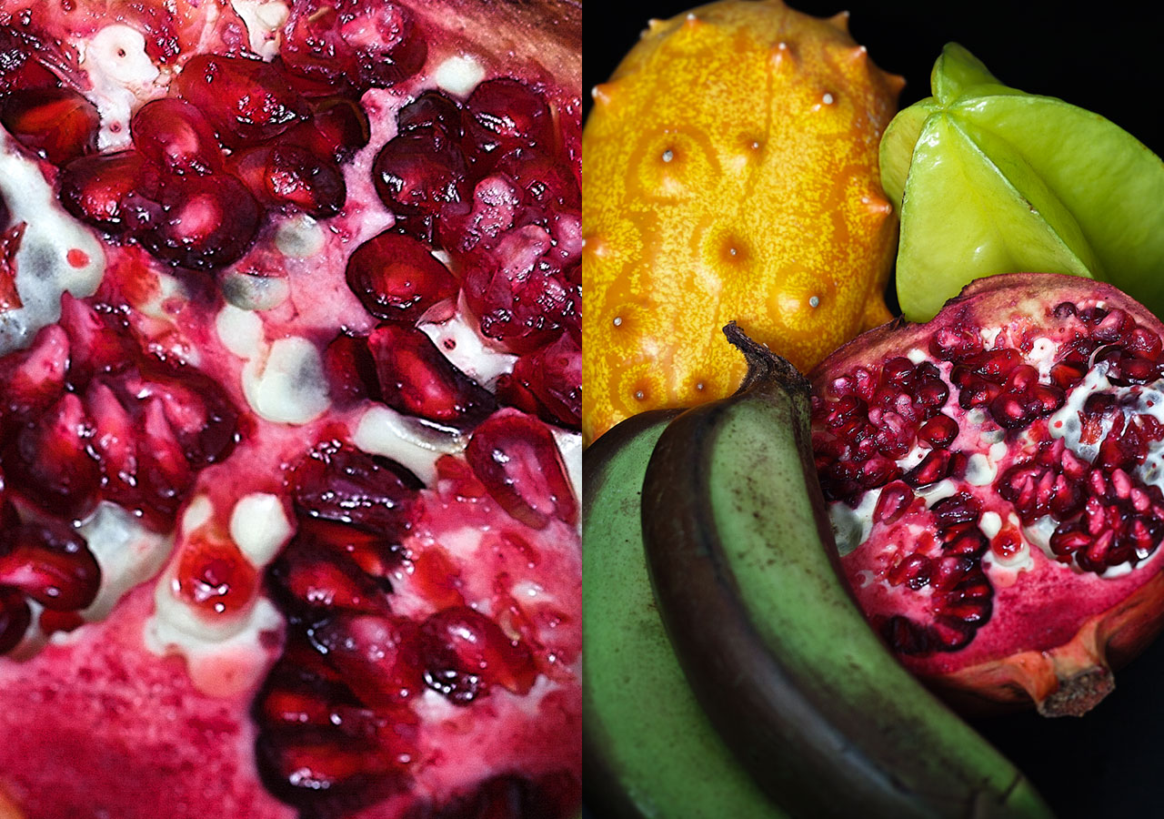 Photo de fruits exotiques