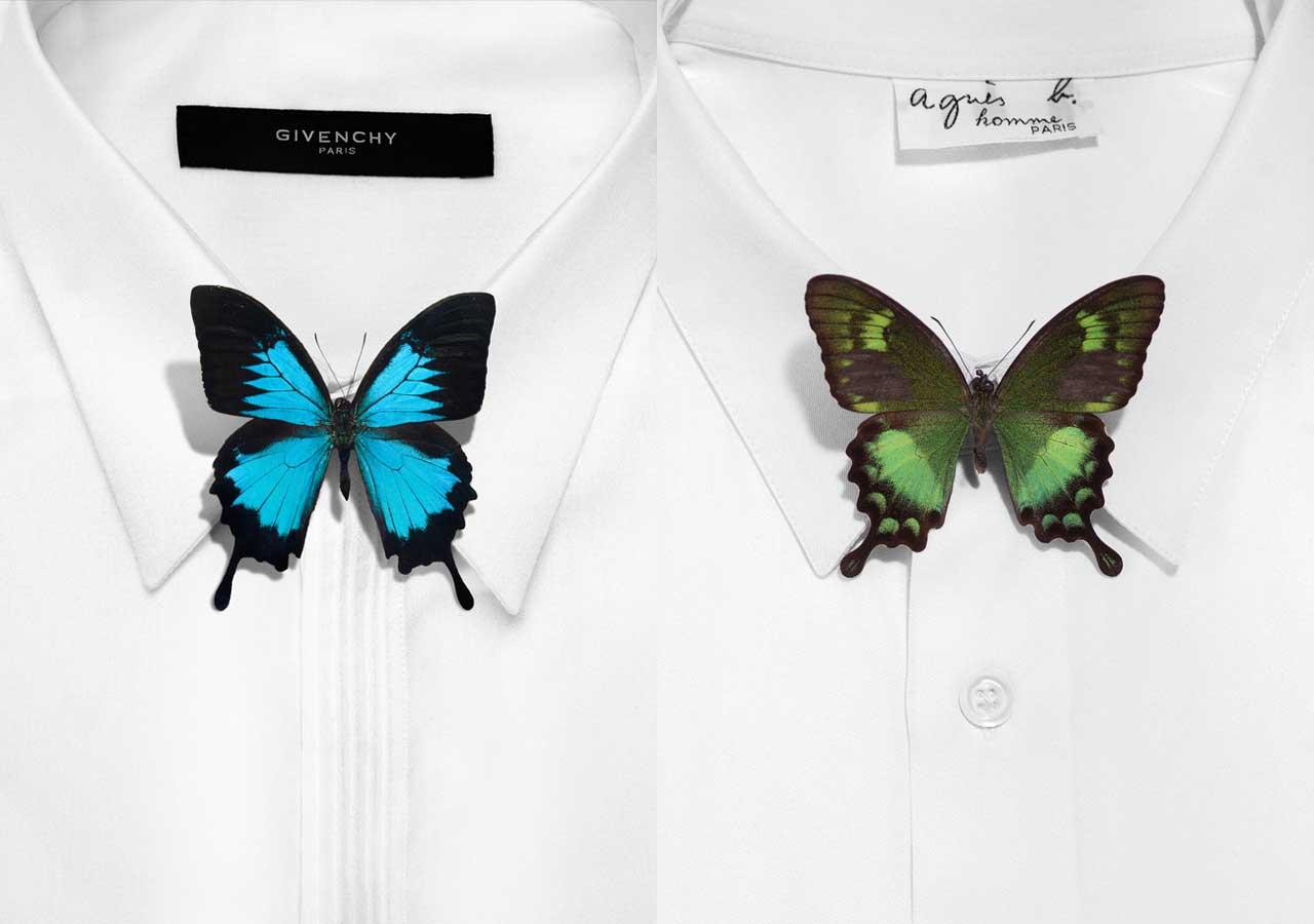 Chemise et noeud papillon