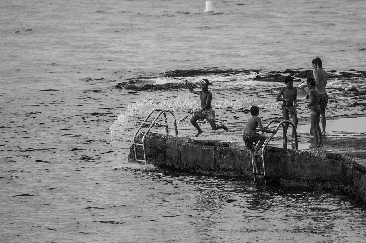 Enfants à Saint-Tropez