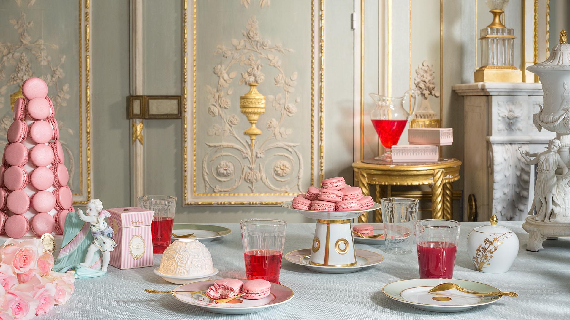 Macarons Marie-Antoinette Laduree