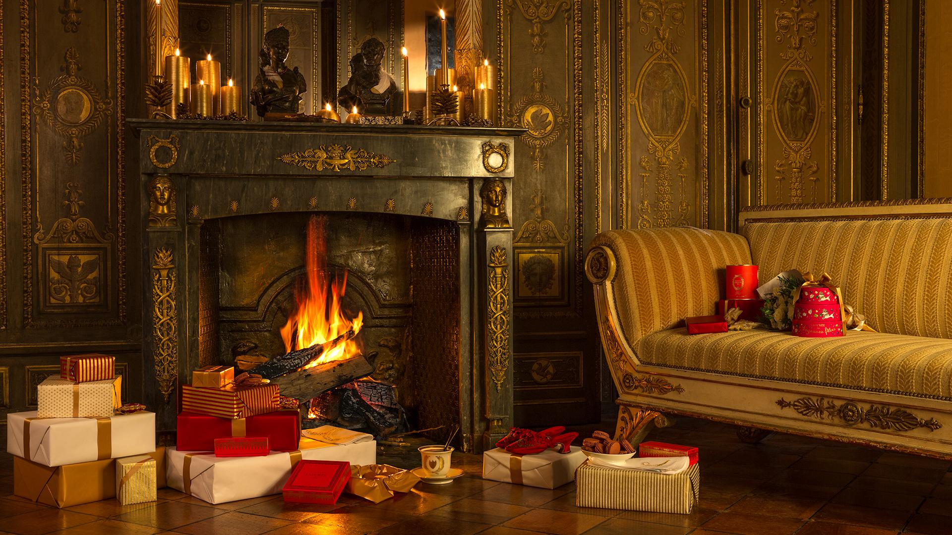 Macarons Saveurs de Noël Ladurée
