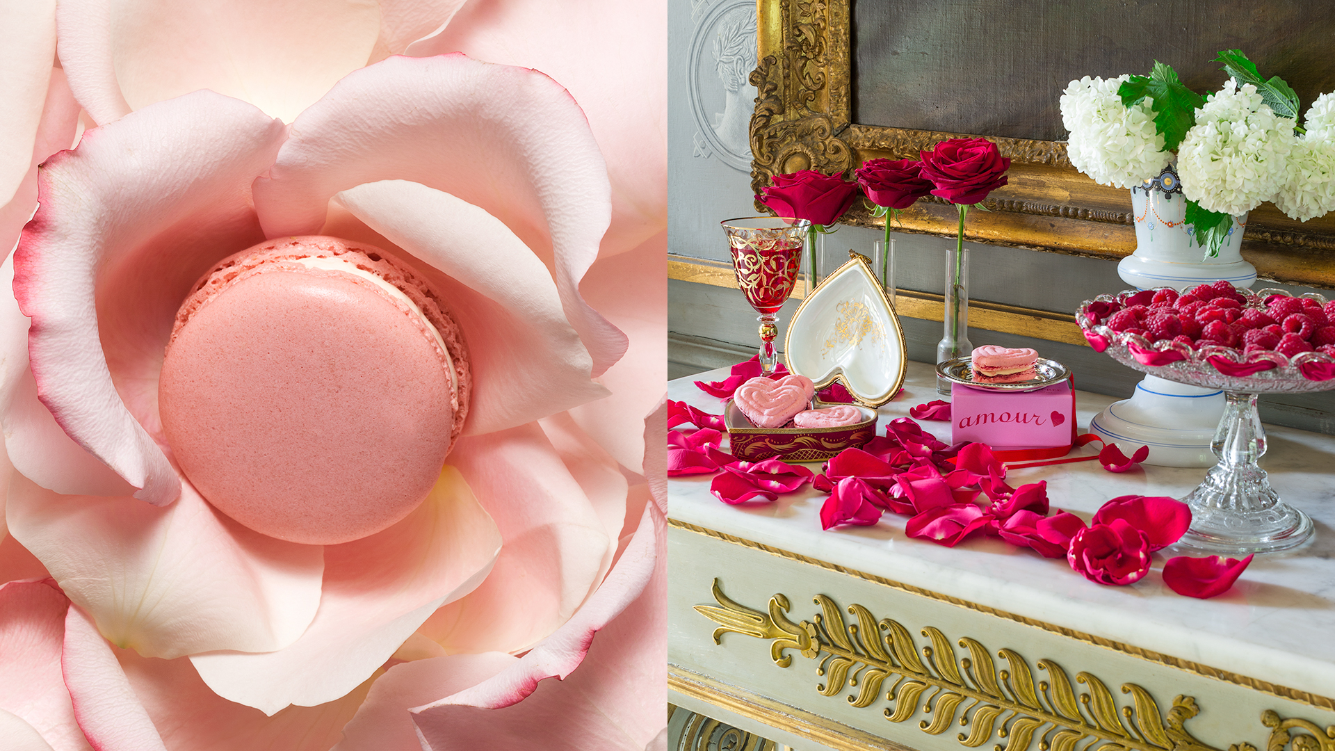 Macarons à la rose Ladurée