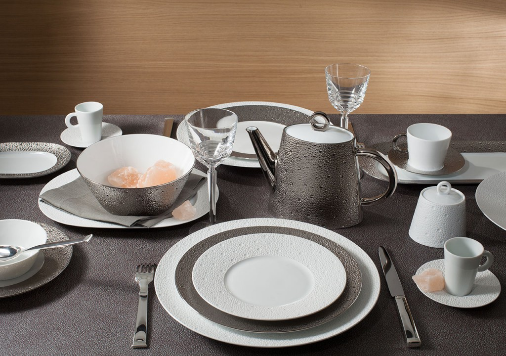 Collection Ecume arts de la table Bernardaud