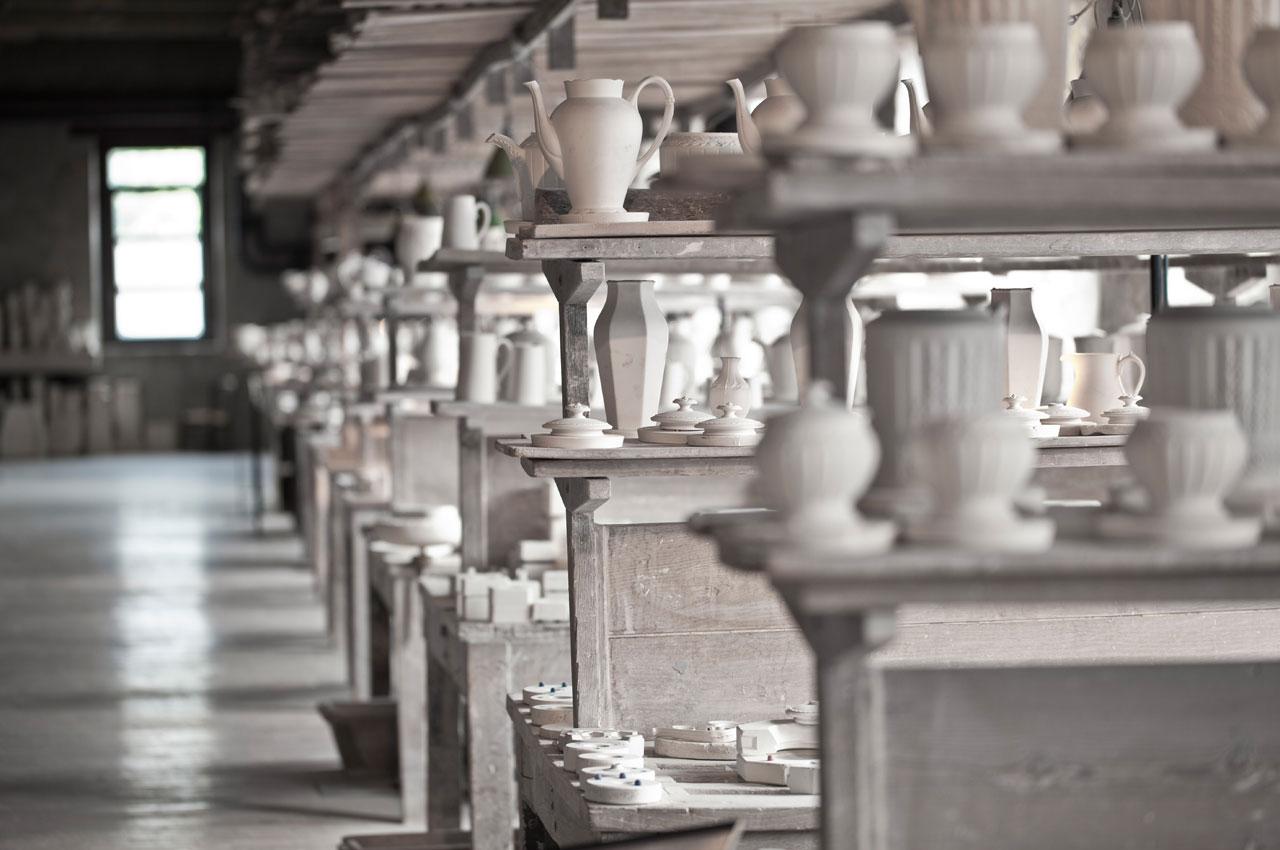 Moule à porcelaine en plâtre