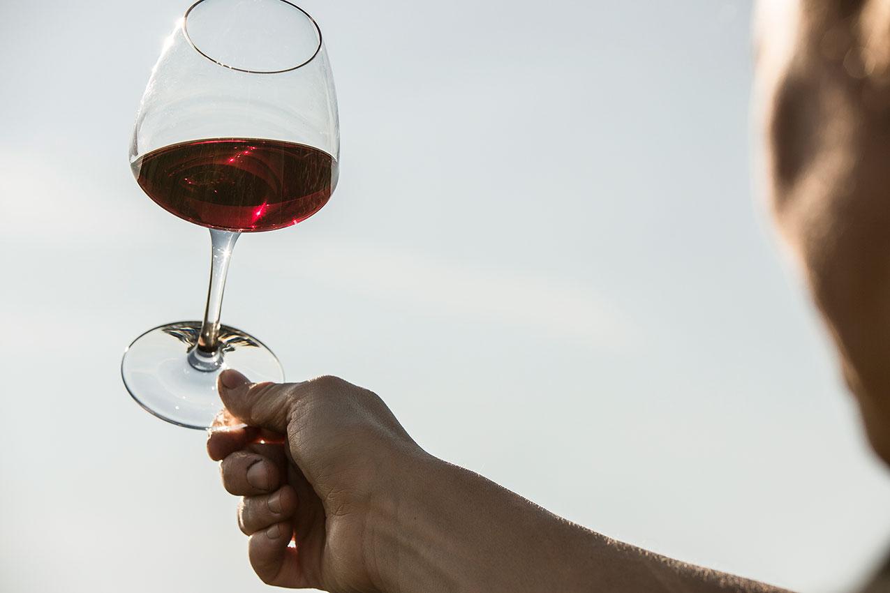 verre de vin de Pommard