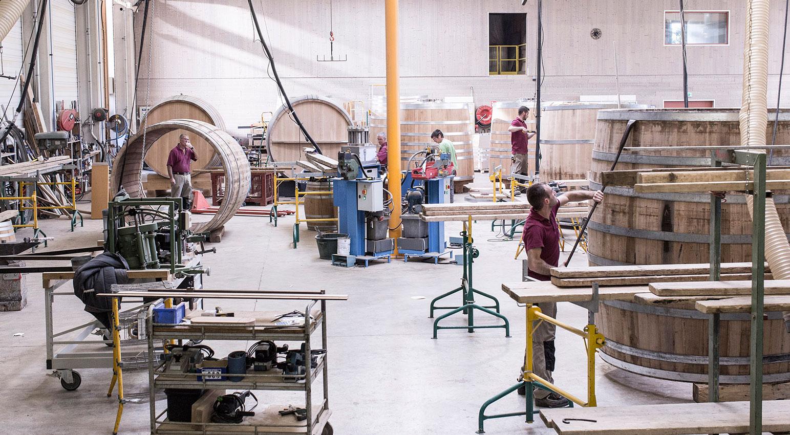 Fabrication de tonneaux