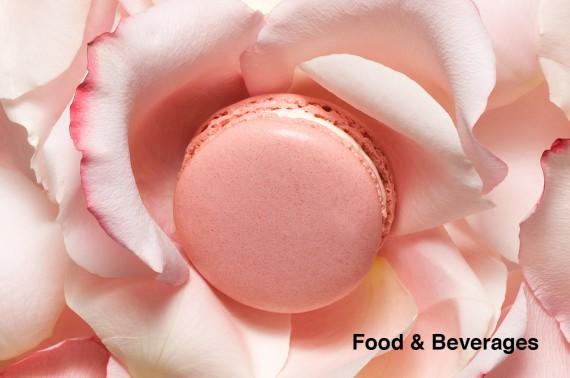 Macaron à la rose Ladurée